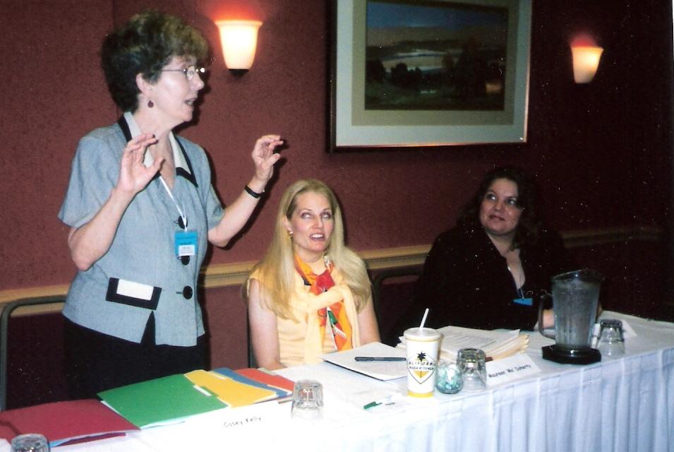 panelist Casey Kelly